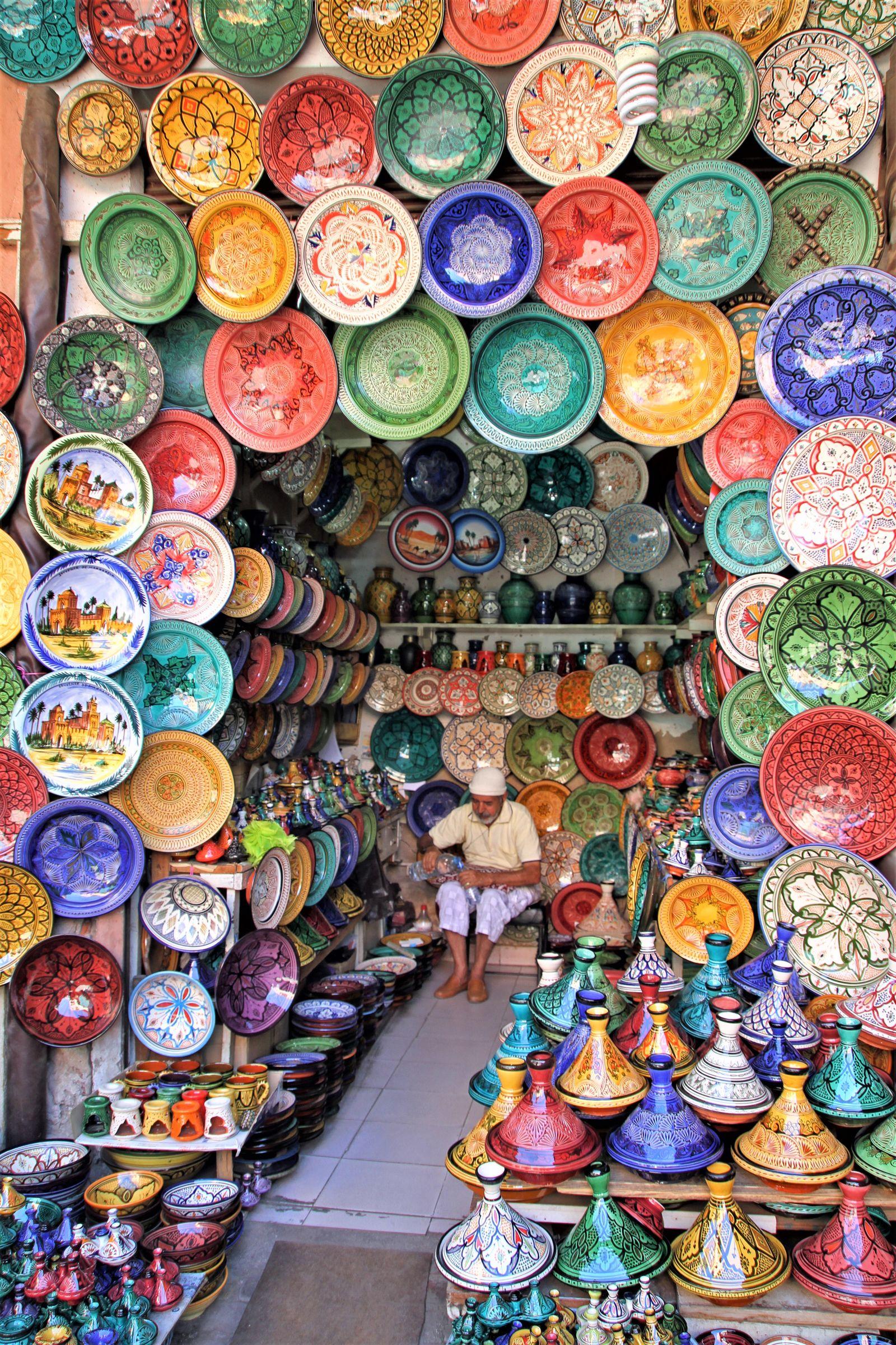 Markt aardewerk