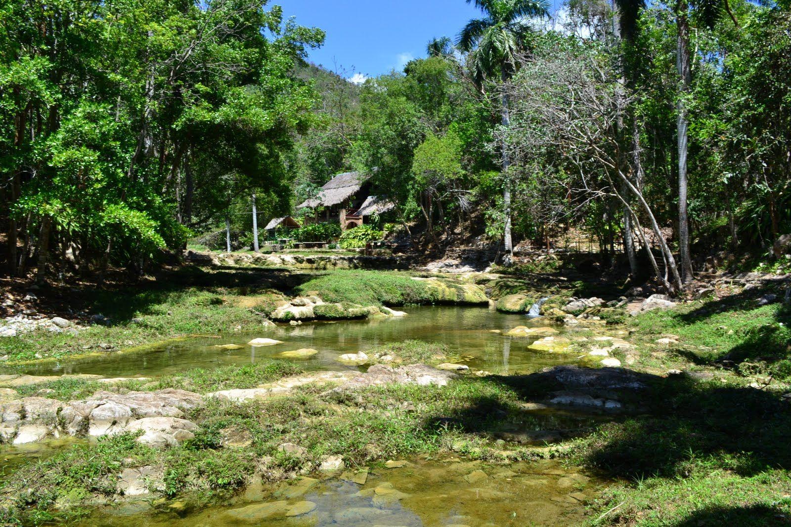 Riviertje door de jungle