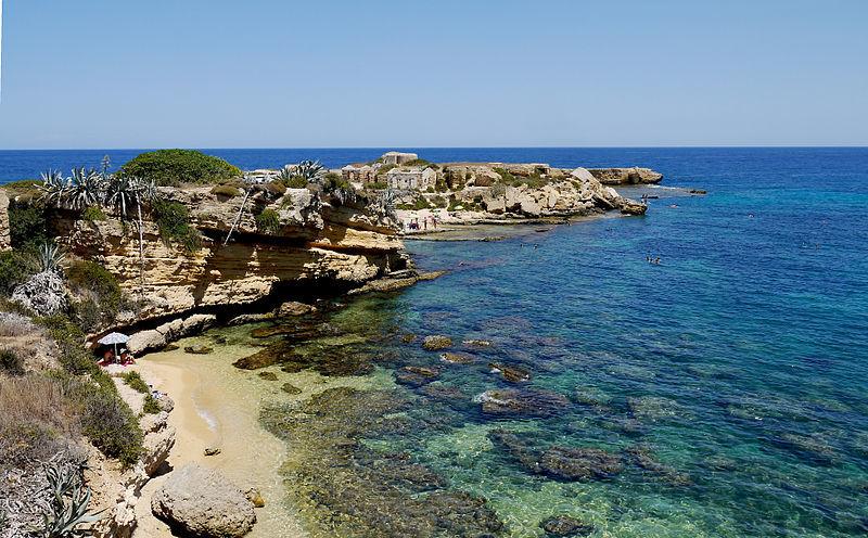 Siracuse beach