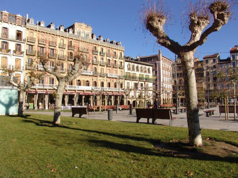 px Vista Plaza del Castillo Pamplona