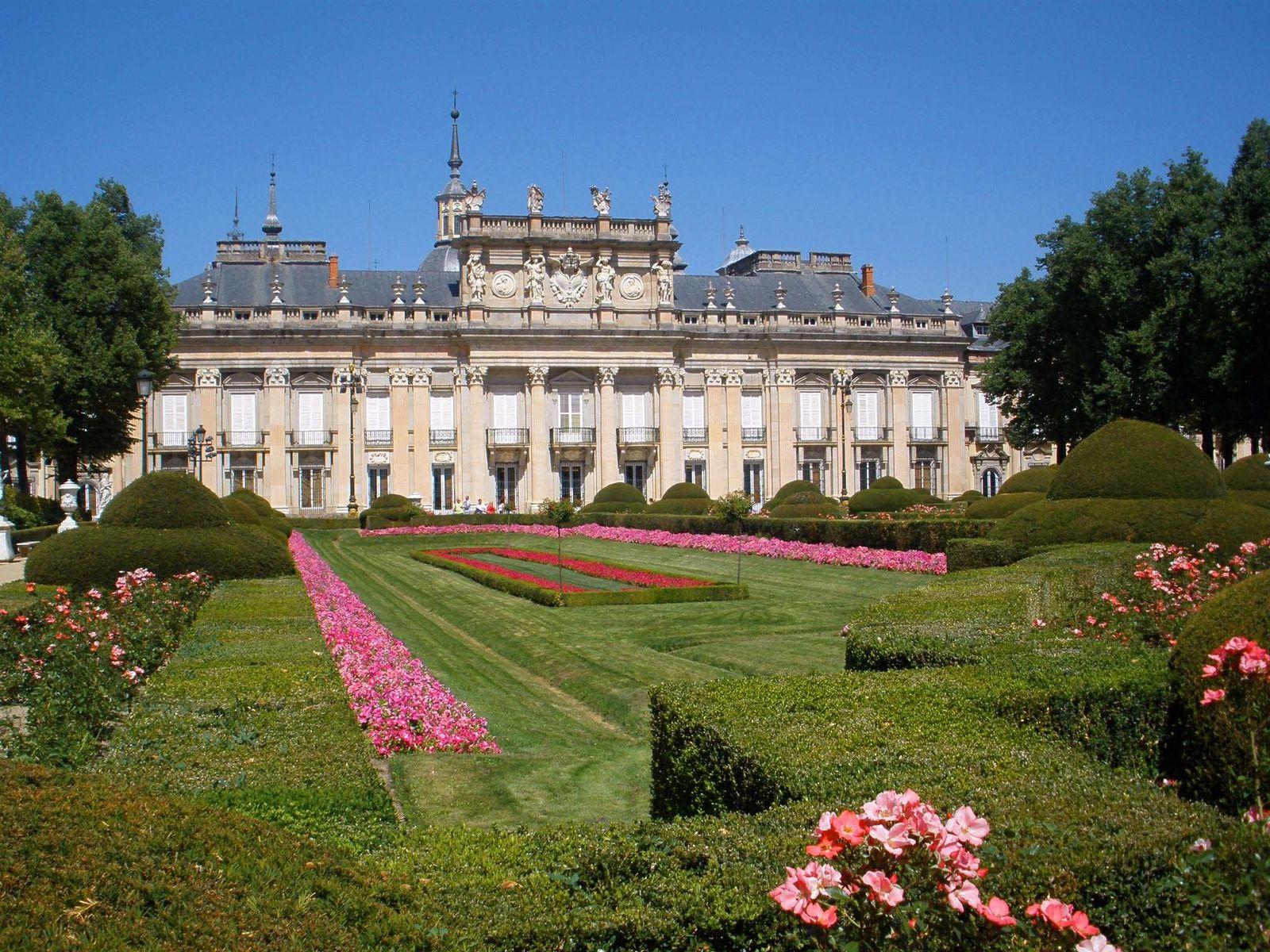 San Ildefonso   Palacio Real de la Granja Terraza y Parterre