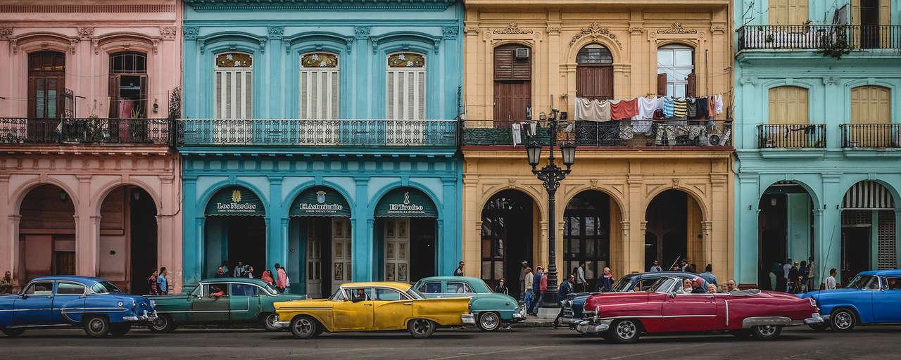 Kleurijke huizen